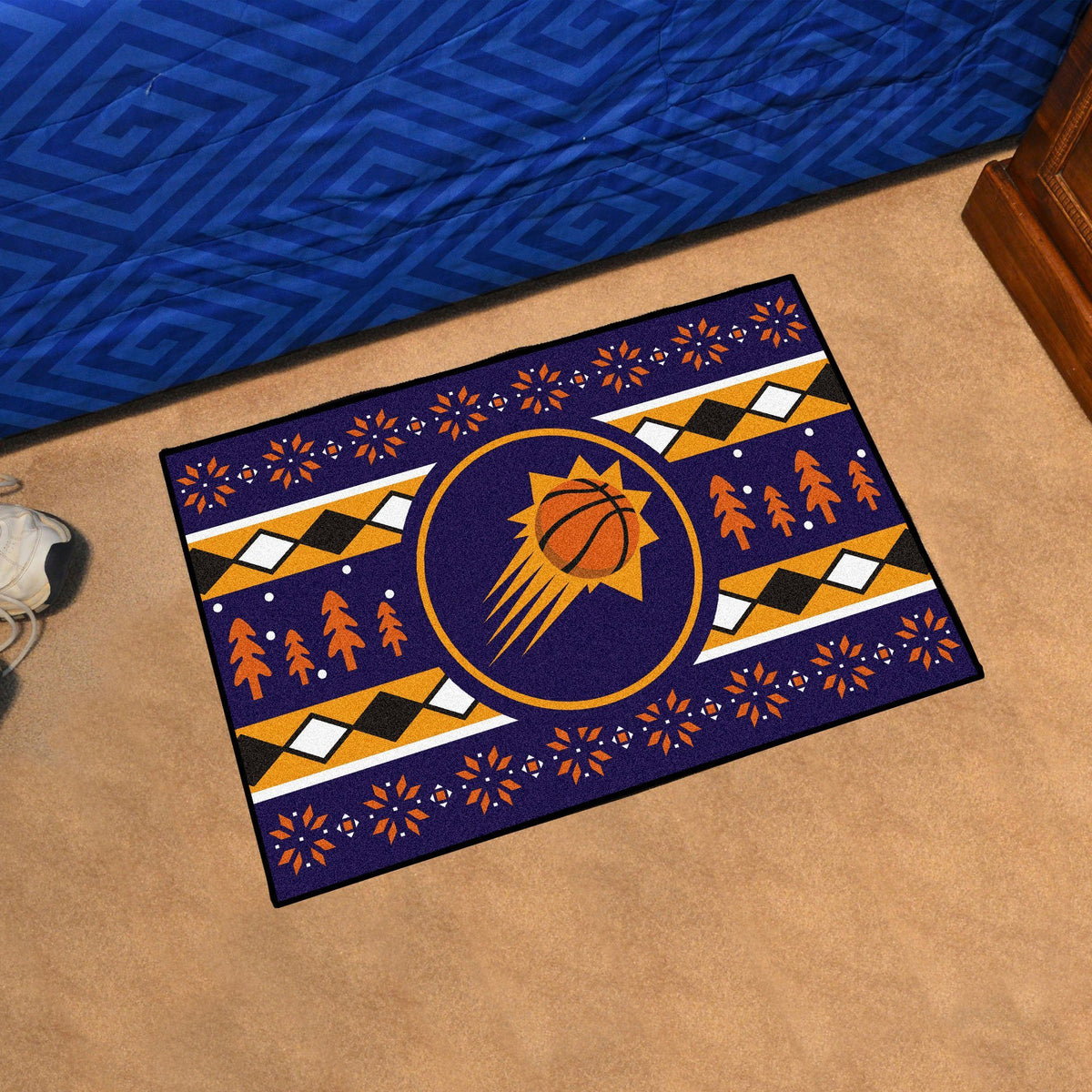 NBA - Holiday Sweater Starter Mat NBA Mats, Rectangular Mats, Holiday Sweater Starter Mat, NBA, Home Fan Mats Phoenix Suns