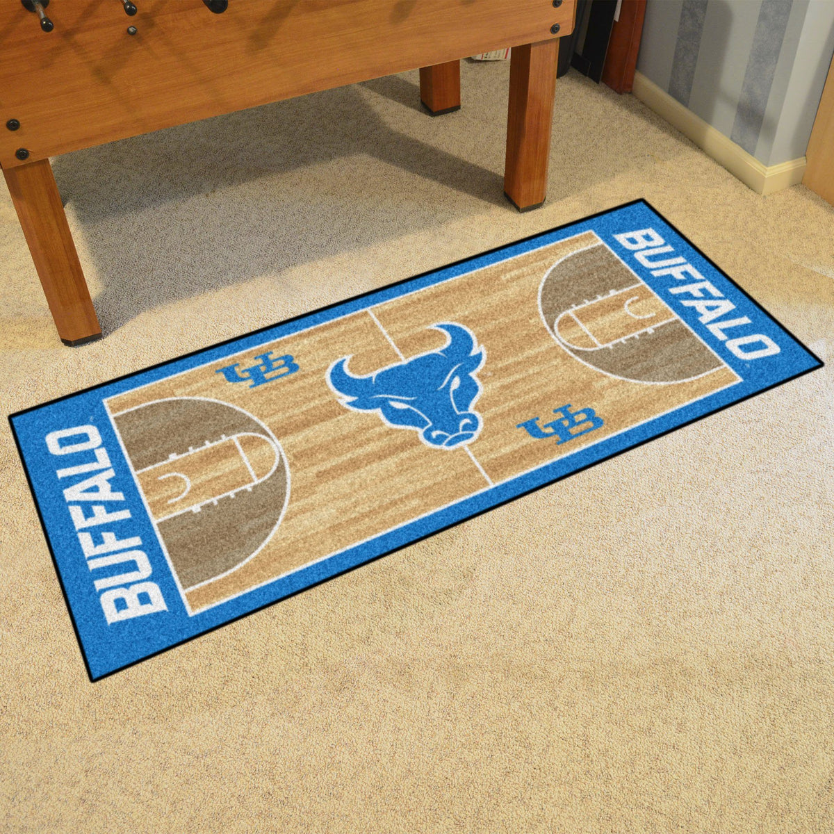 Collegiate - NCAA Basketball Runner Collegiate Mats, Rectangular Mats, NCAA Basketball Runner, Collegiate, Home Fan Mats Buffalo
