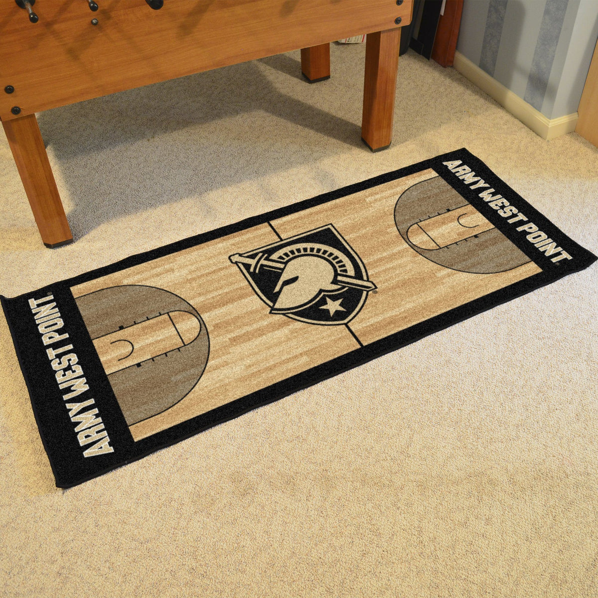 Collegiate - NCAA Basketball Runner Collegiate Mats, Rectangular Mats, NCAA Basketball Runner, Collegiate, Home Fan Mats Army West Point