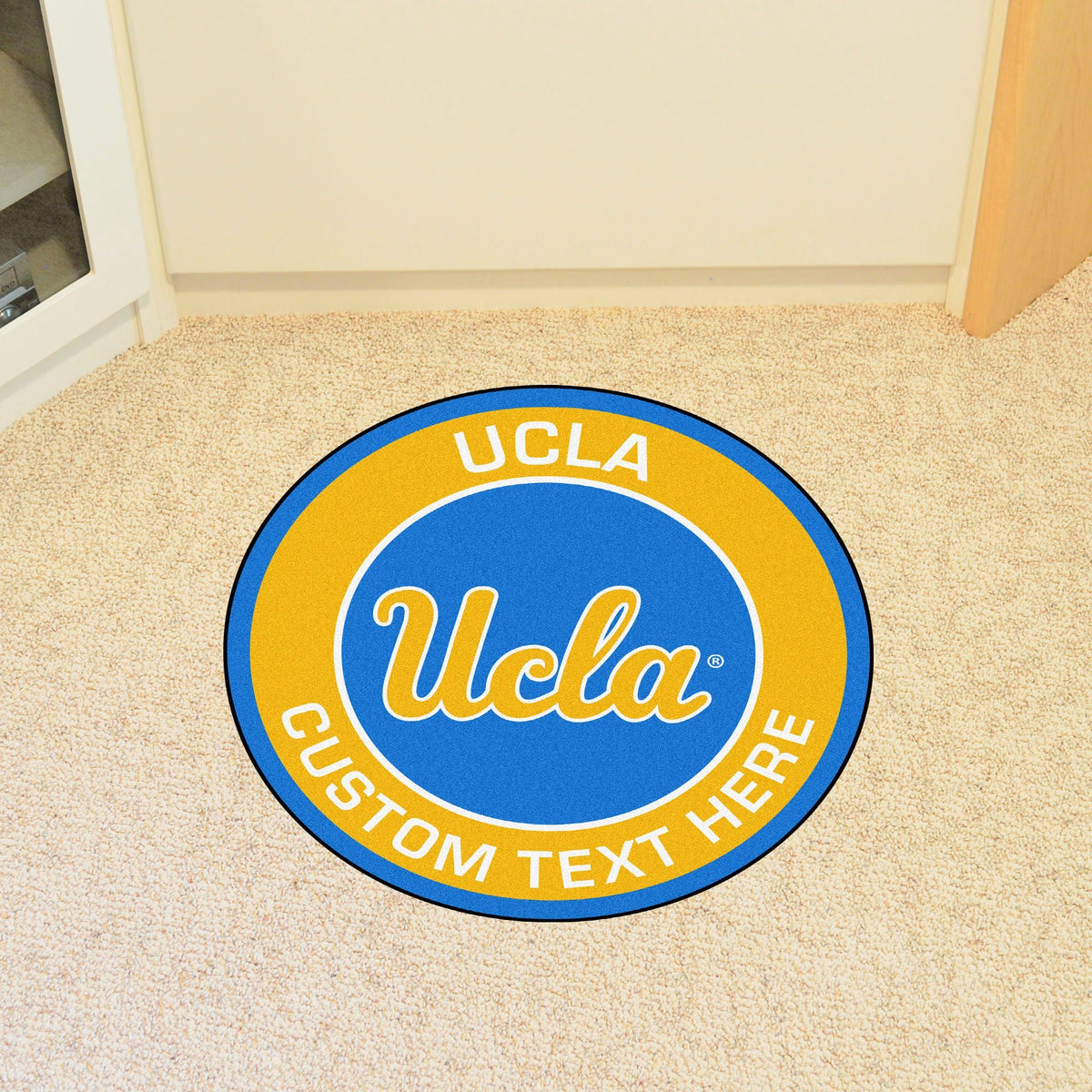 Collegiate Personalized Roundel Mat Personalized Roundel Mat Fan Mats University of California - Los Angeles (UCLA)