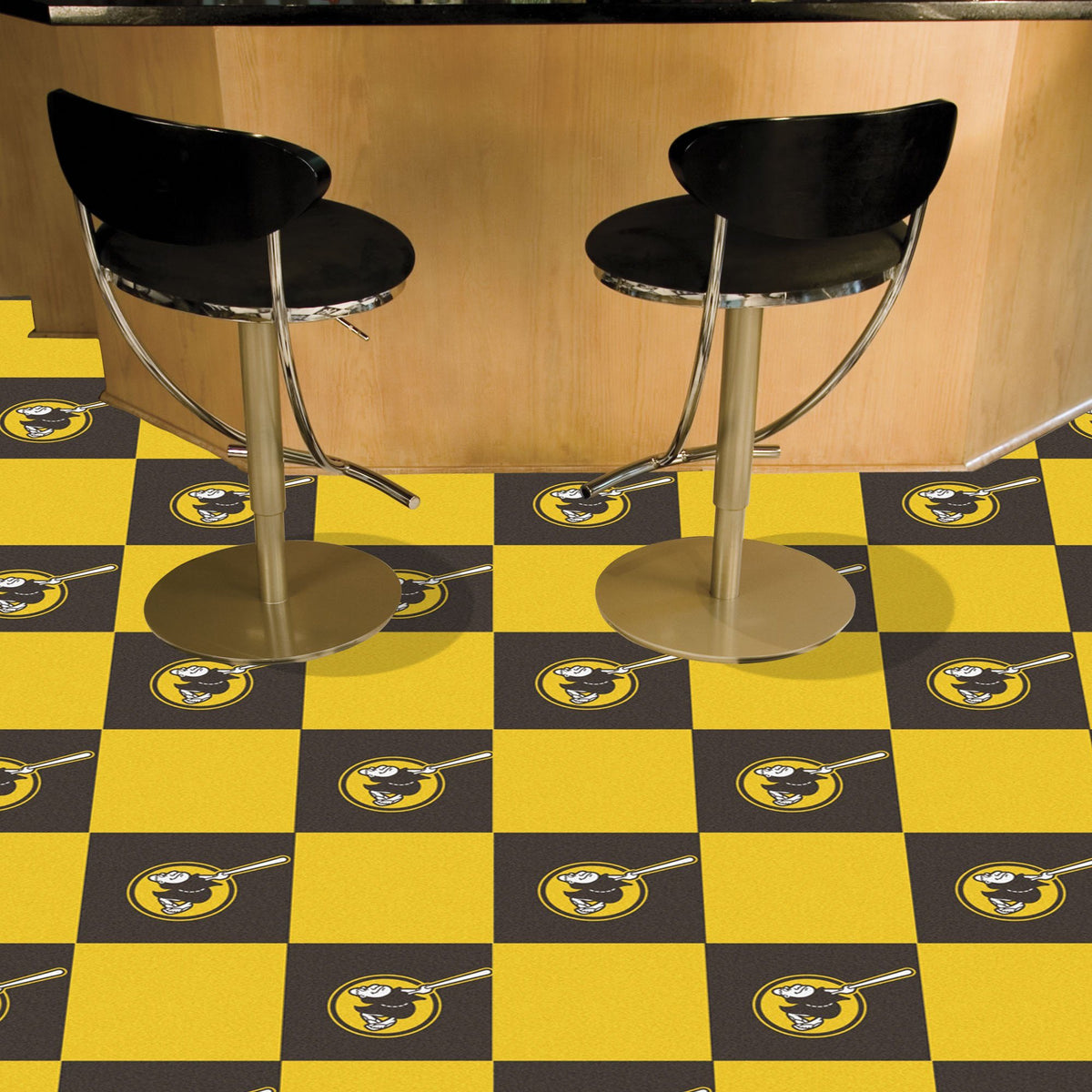 MLB - Team Carpet Tiles MLB Mats, Carpet Tile Flooring, Team Carpet Tiles, MLB, Home Fan Mats San Diego Padres 2