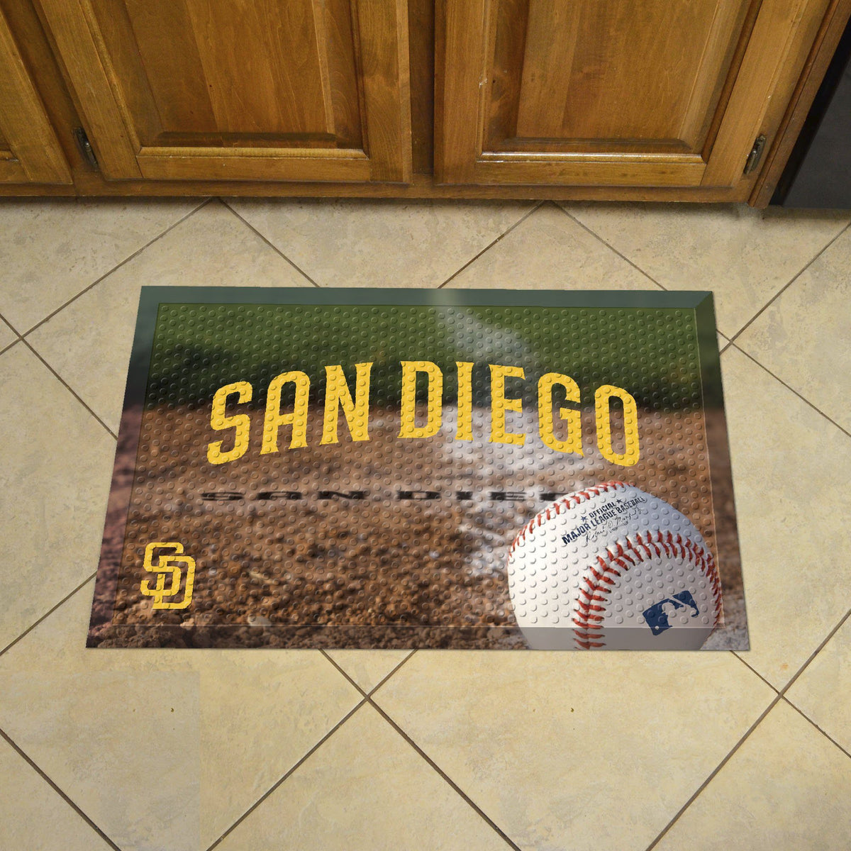 MLB - Scraper Mat MLB Mats, Scraper Mats, Scraper Mat, MLB, Home Fan Mats San Diego Padres 4