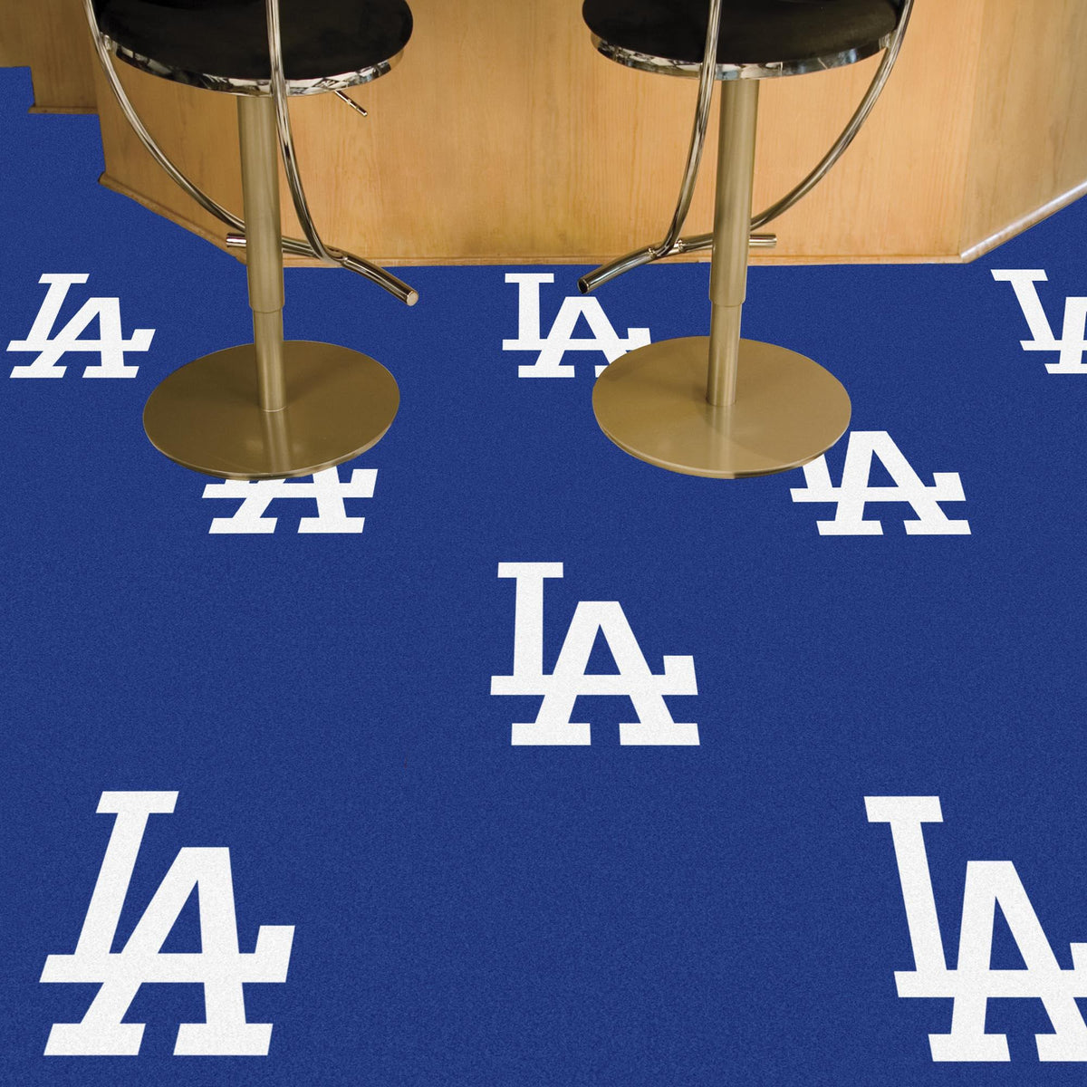 MLB - Team Carpet Tiles MLB Mats, Carpet Tile Flooring, Team Carpet Tiles, MLB, Home Fan Mats Los Angeles Dodgers 2