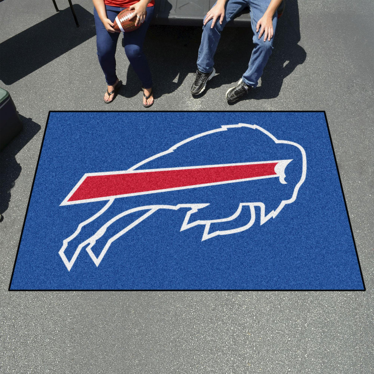 "NFL - Ulti-Mat, 59.5"" x 94.5"" NFL Mats, Rectangular Mats, Ulti-Mat, NFL, Home Fan Mats Buffalo Bills 2"