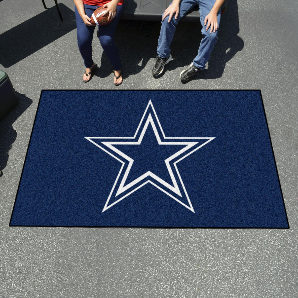 "NFL - Ulti-Mat, 59.5"" x 94.5"" NFL Mats, Rectangular Mats, Ulti-Mat, NFL, Home Fan Mats Dallas Cowboys 2"