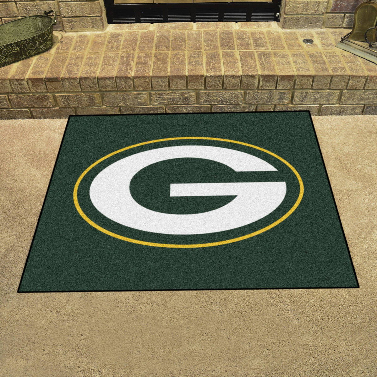 "NFL - Ulti-Mat, 59.5"" x 94.5"" NFL Mats, Rectangular Mats, Ulti-Mat, NFL, Home Fan Mats Green Bay Packers 2"