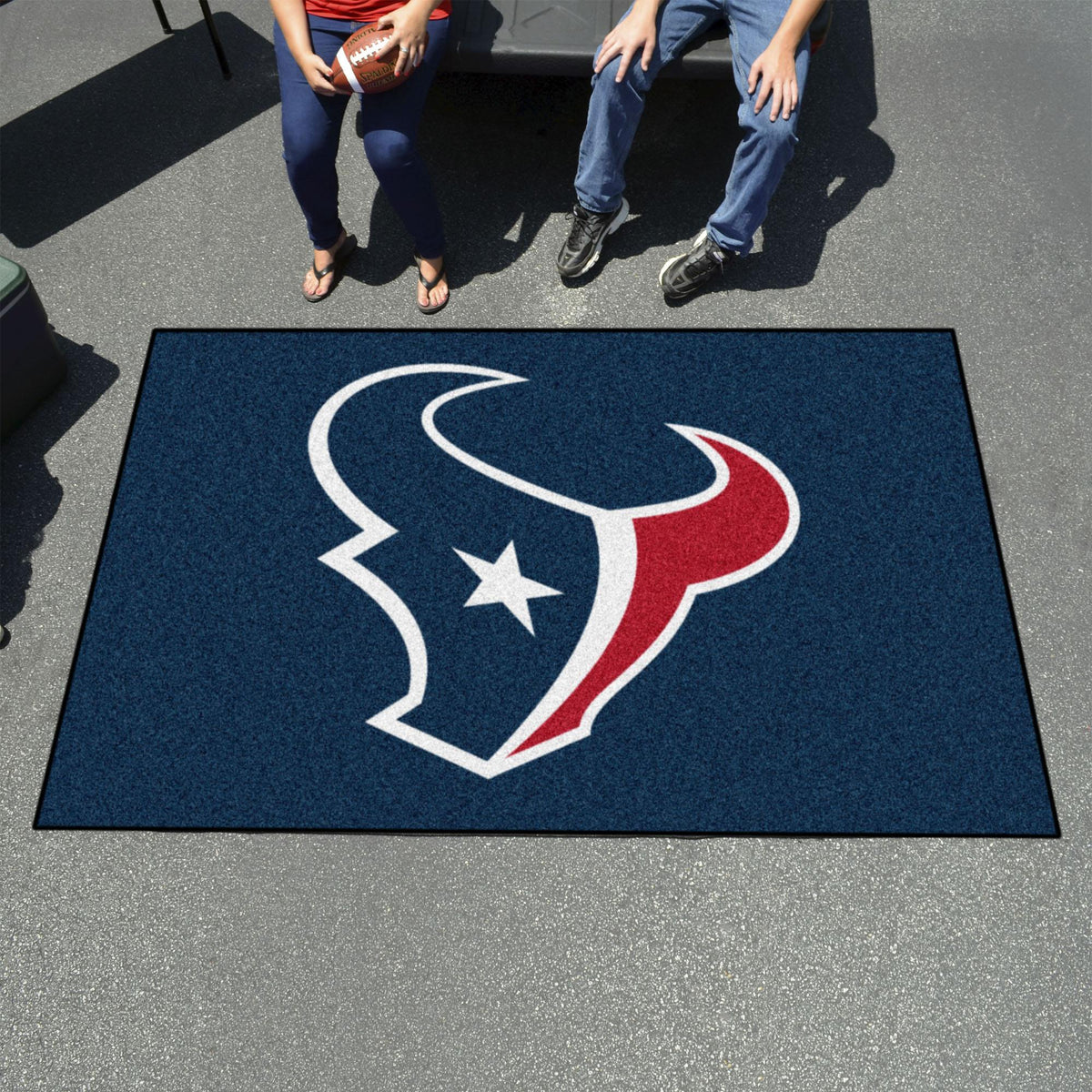 "NFL - Ulti-Mat, 59.5"" x 94.5"" NFL Mats, Rectangular Mats, Ulti-Mat, NFL, Home Fan Mats Houston Texans 2"