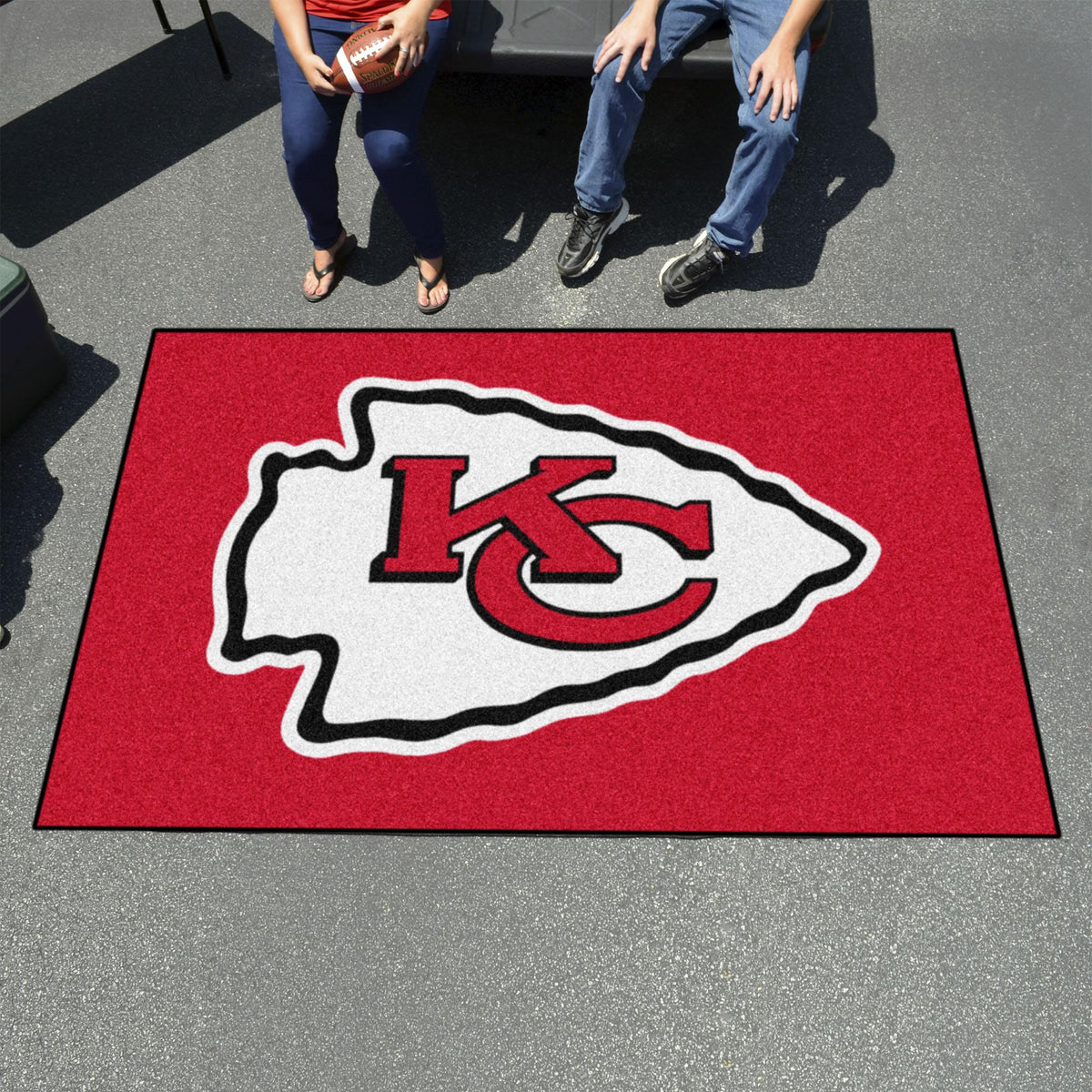 "NFL - Ulti-Mat, 59.5"" x 94.5"" NFL Mats, Rectangular Mats, Ulti-Mat, NFL, Home Fan Mats Kansas City Chiefs 2"