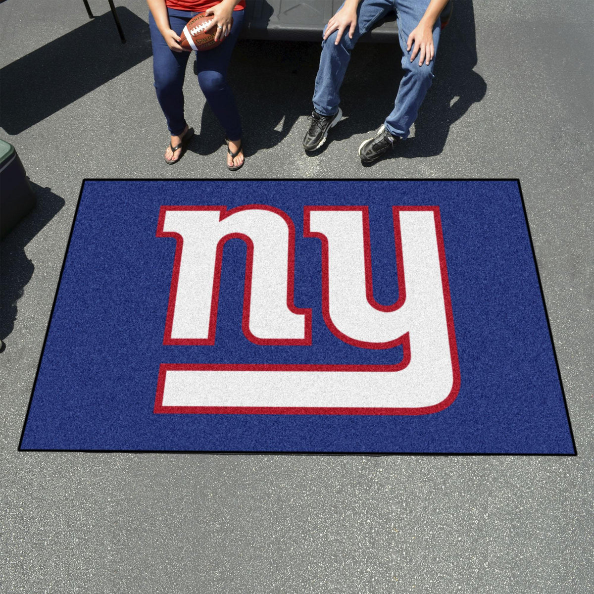 "NFL - Ulti-Mat, 59.5"" x 94.5"" NFL Mats, Rectangular Mats, Ulti-Mat, NFL, Home Fan Mats New York Giants 2"
