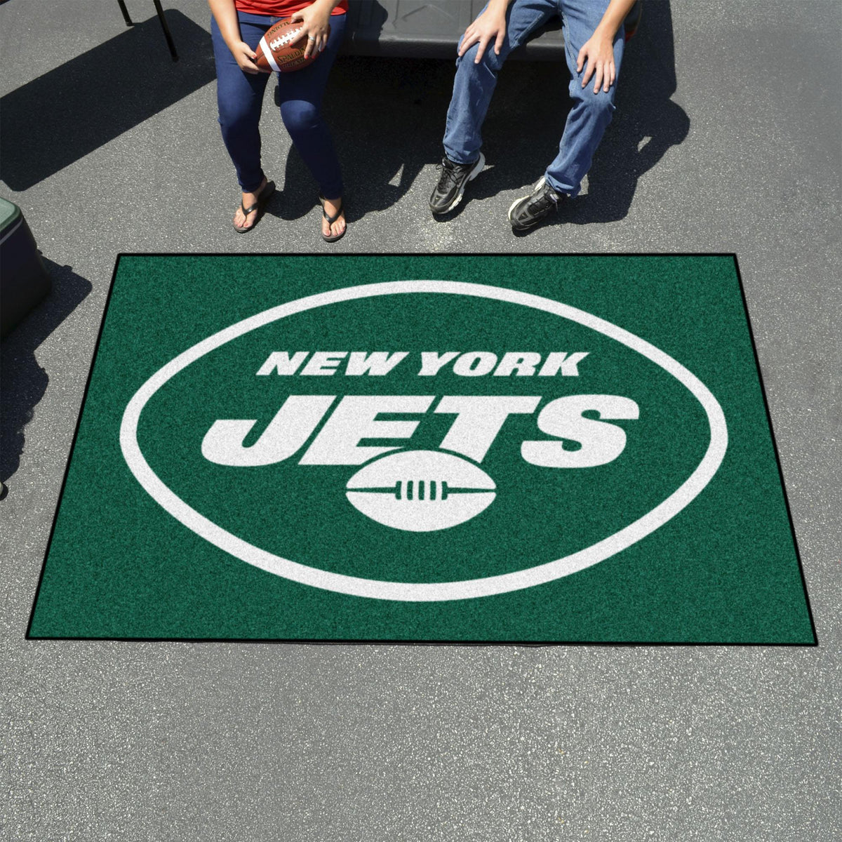 "NFL - Ulti-Mat, 59.5"" x 94.5"" NFL Mats, Rectangular Mats, Ulti-Mat, NFL, Home Fan Mats New York Jets 2"