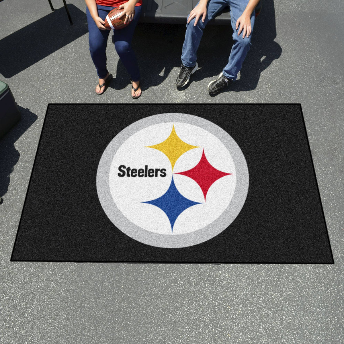 "NFL - Ulti-Mat, 59.5"" x 94.5"" NFL Mats, Rectangular Mats, Ulti-Mat, NFL, Home Fan Mats Pittsburgh Steelers 2"