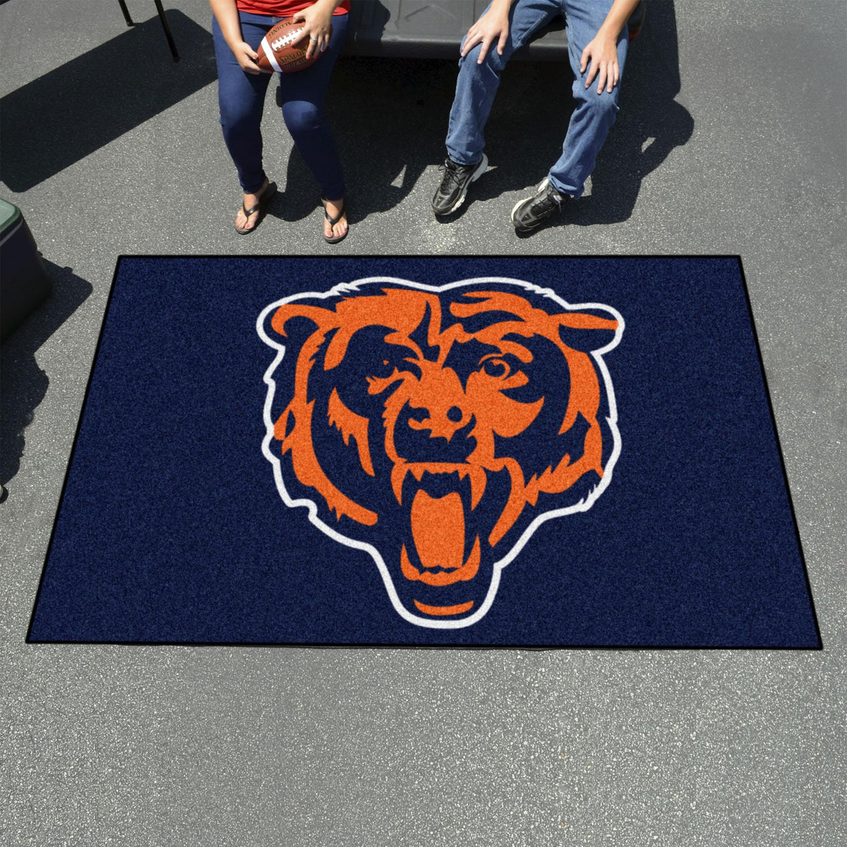 "NFL - Ulti-Mat, 59.5"" x 94.5"" NFL Mats, Rectangular Mats, Ulti-Mat, NFL, Home Fan Mats Chicago Bears 2"
