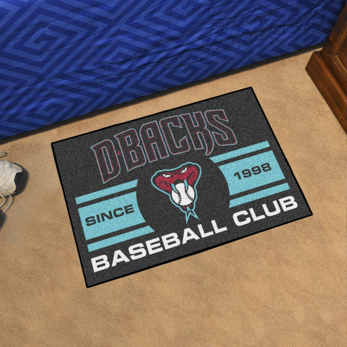 MLB - Starter Mat MLB Mats, Rectangular Mats, Starter Mat, MLB, Home Fan Mats Arizona Diamondbacks 3