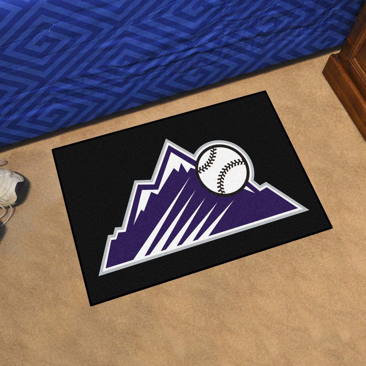 MLB - Starter Mat MLB Mats, Rectangular Mats, Starter Mat, MLB, Home Fan Mats Colorado Rockies 2