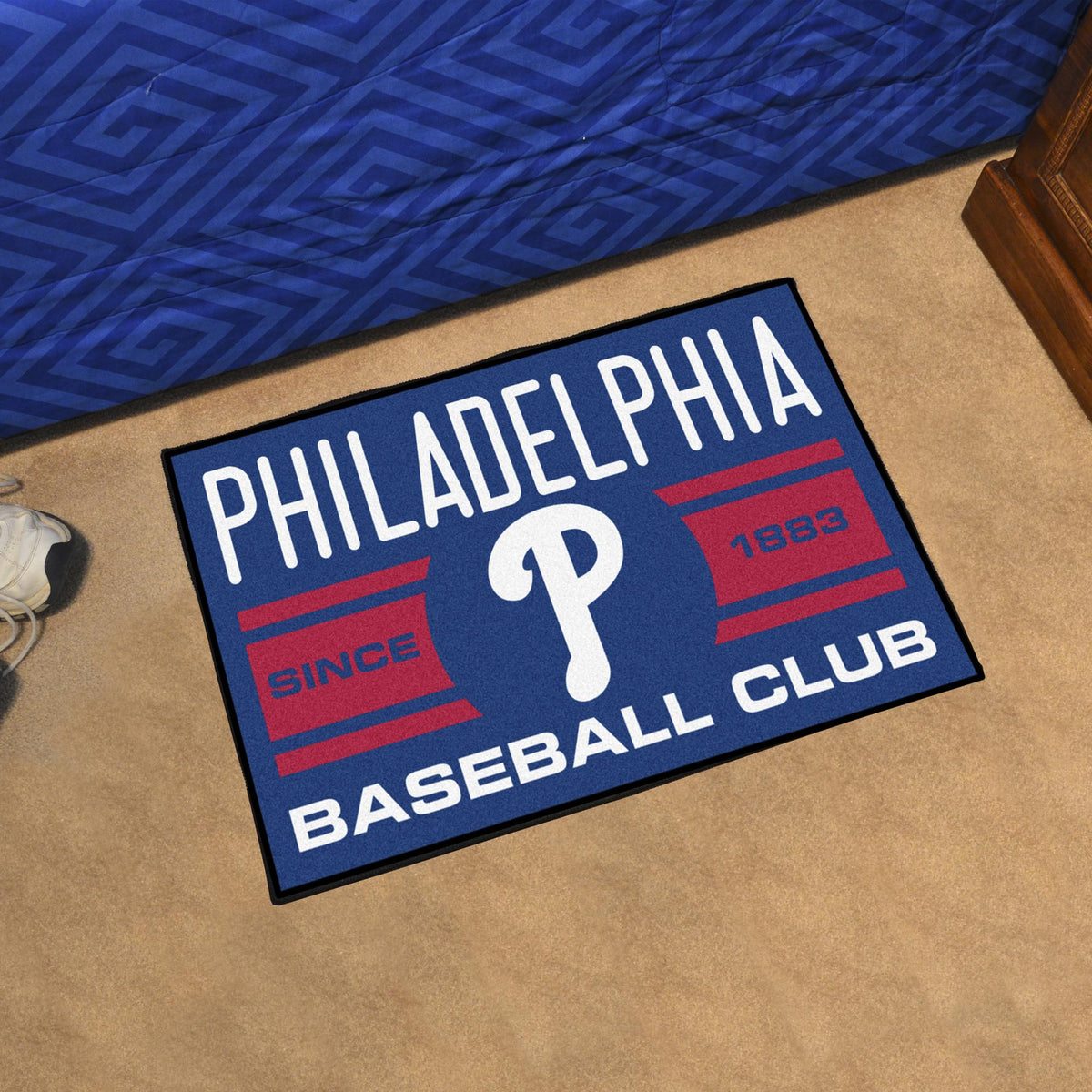 MLB - Starter Mat MLB Mats, Rectangular Mats, Starter Mat, MLB, Home Fan Mats Philadelphia Phillies 3