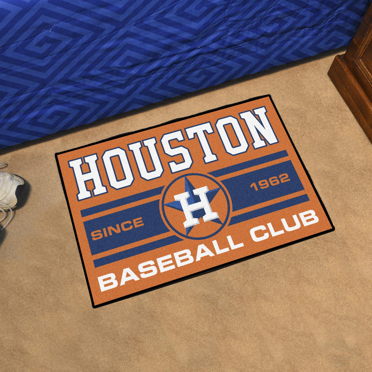 MLB - Starter Mat MLB Mats, Rectangular Mats, Starter Mat, MLB, Home Fan Mats Houston Astros 3