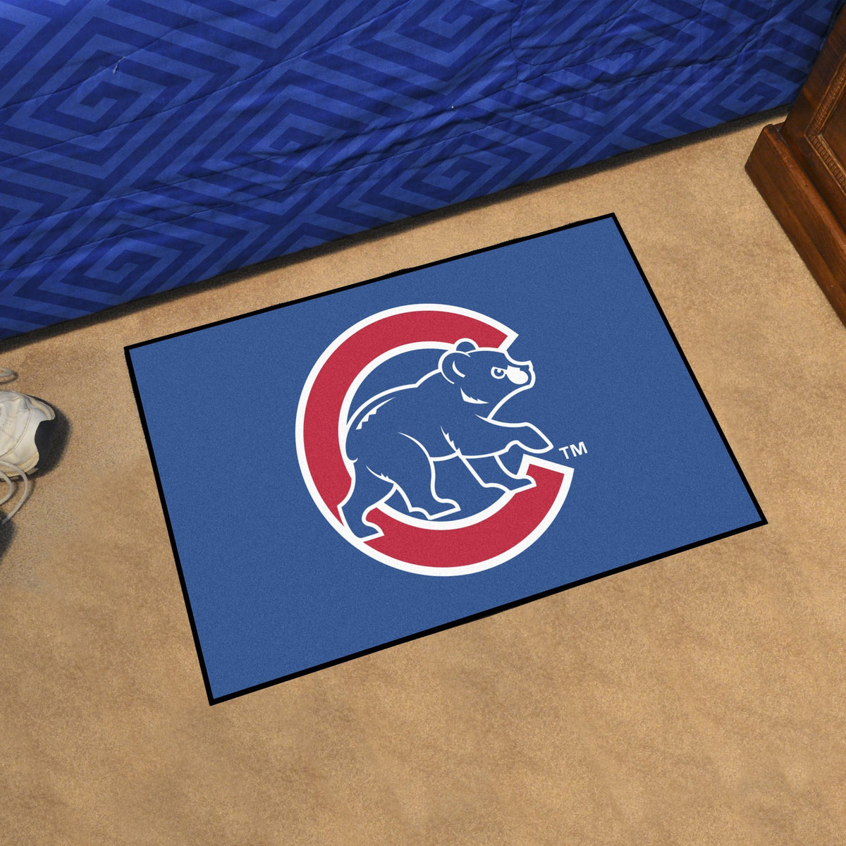 MLB - Starter Mat MLB Mats, Rectangular Mats, Starter Mat, MLB, Home Fan Mats Chicago Cubs 3