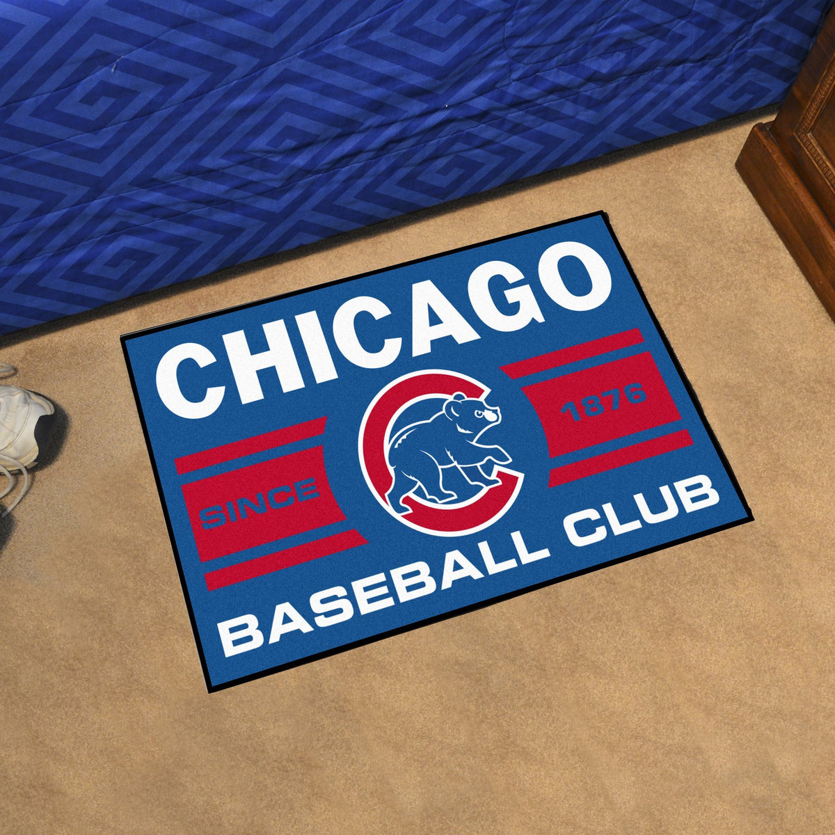 MLB - Starter Mat MLB Mats, Rectangular Mats, Starter Mat, MLB, Home Fan Mats Chicago Cubs 4