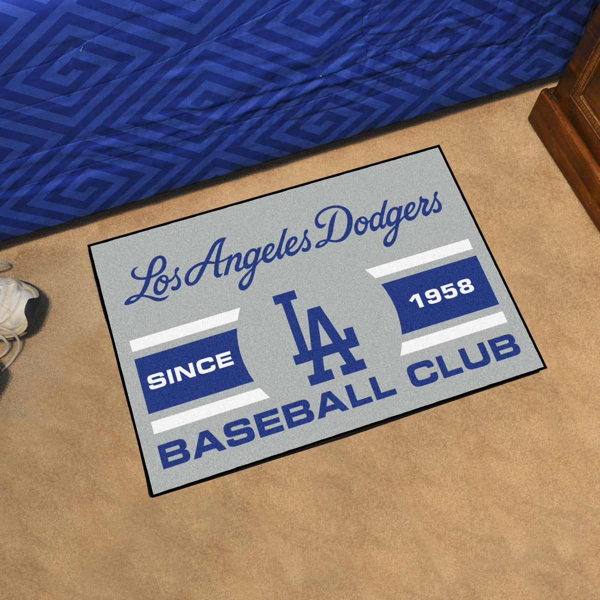 MLB - Starter Mat MLB Mats, Rectangular Mats, Starter Mat, MLB, Home Fan Mats Los Angeles Dodgers 4