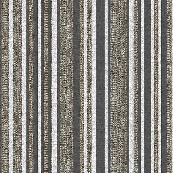 Barcode Stripe Printed Vinyl Flooring Design Pool - GIF Brown