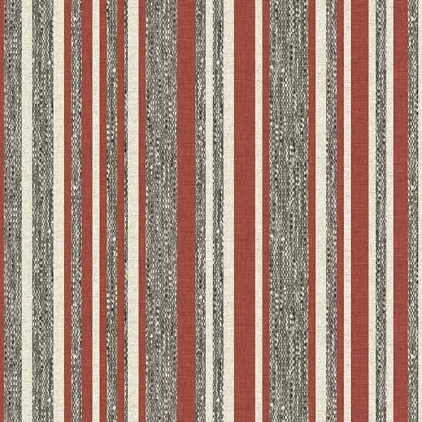 Barcode Stripe Printed Vinyl Flooring Design Pool - GIF Red