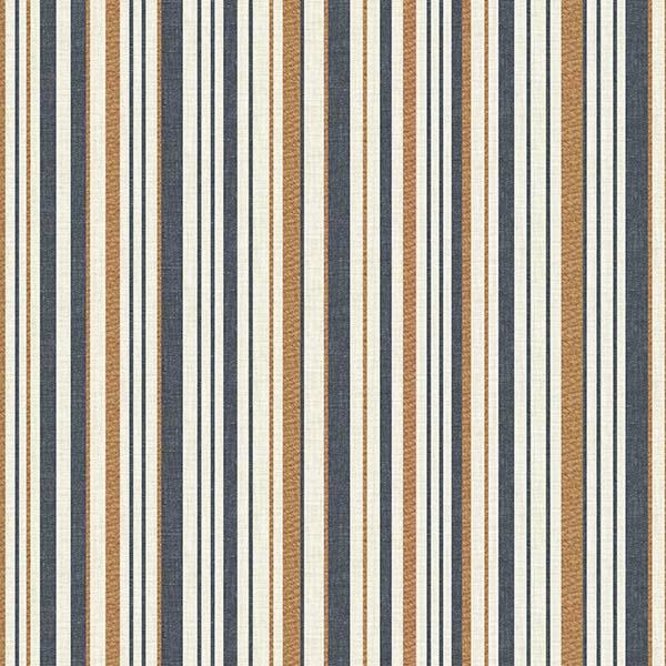 Sunset Stripe Printed Vinyl Flooring Design Pool - GIF Blue
