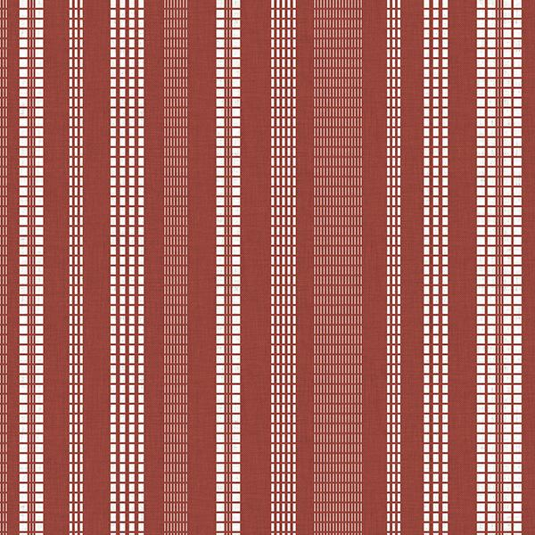 Stitched Stripe Printed Vinyl Flooring Design Pool - GIF Red