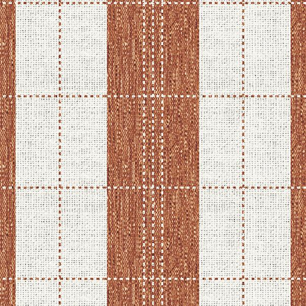 Stripe Stitched Plaid Printed Vinyl Flooring Design Pool - GIF Orange