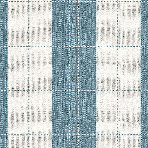 Stripe Stitched Plaid Printed Vinyl Flooring Design Pool - GIF Aqua