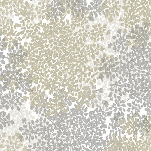 Queen Anne's Lace Printed Vinyl Flooring Design Pool - GIF Taupe