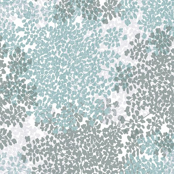 Queen Anne's Lace Printed Vinyl Flooring Design Pool - GIF Aqua