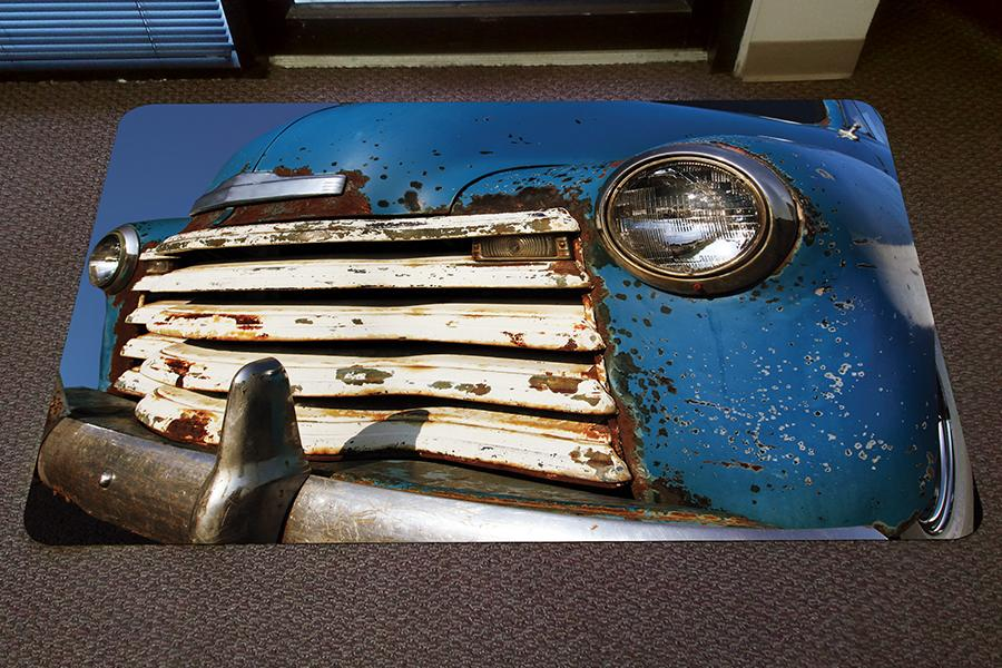 GIF Vinyl Nonskid Mat Interior Floor Mat Graphic Image Flooring