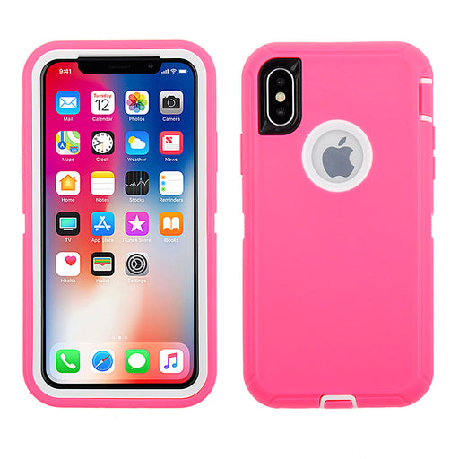 Full Protection Case for iPhone X/ XS - Tough Protective Case with Holster Clip