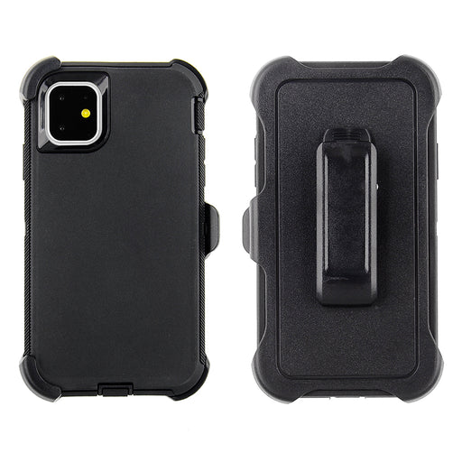Full Protection Case for iPhone 11 - Tough Protective Case with Holster Clip