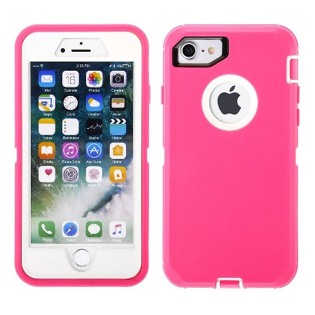 Full Protection Case for iPhone 8/ 7/ 6s/ SE(2020) - Tough Protective Case with Holster Clip