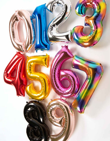 number-foil-balloons