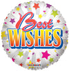 45cm Best Wishes Foil Balloon