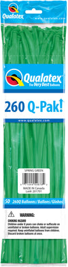260Q Fashion Latex Modelling Balloon 50pcs Wintergreen