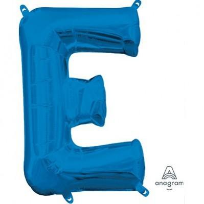Ci Letter E Shaped Balloon 40cm Blue