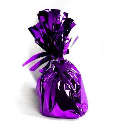 Foil Balloon Weight Pack X 6 Purple
