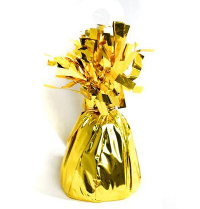 Foil Balloon Weight Pack X 6 True Gold
