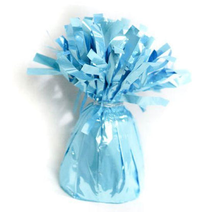 Foil Balloon Weight Pack X 6 Light Blue