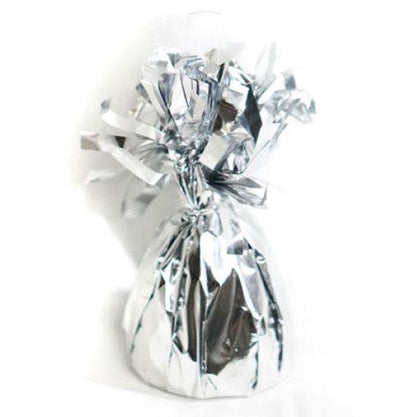 Foil Balloon Weight Pack X 6 Silver