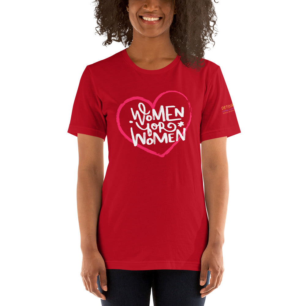 Women For Women Short-Sleeve Unisex T-Shirt