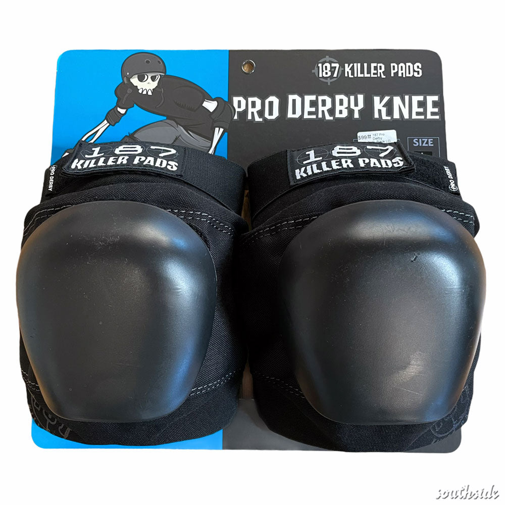 187 Pro Derby Knee Pads Black