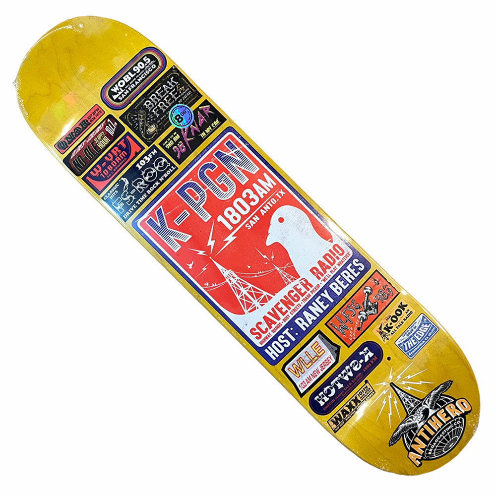 Anti Hero Deck Raney Broadcasting 8.06x31.7