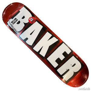 Baker Deck Brand Red Foil 8x31.6