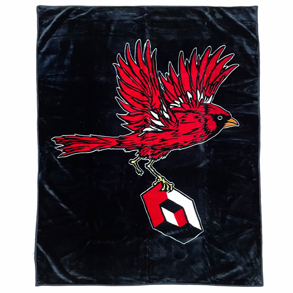 Consolidated Cardinal Blanket 54x84 inches