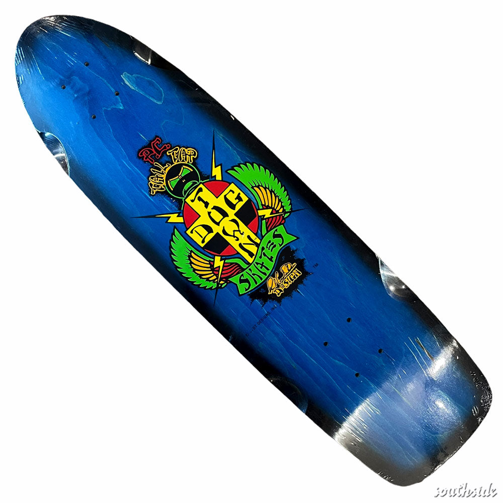Dogtown Deck OG PC Tail Tap Classic 8.37x30 Blue Stain Black Fade