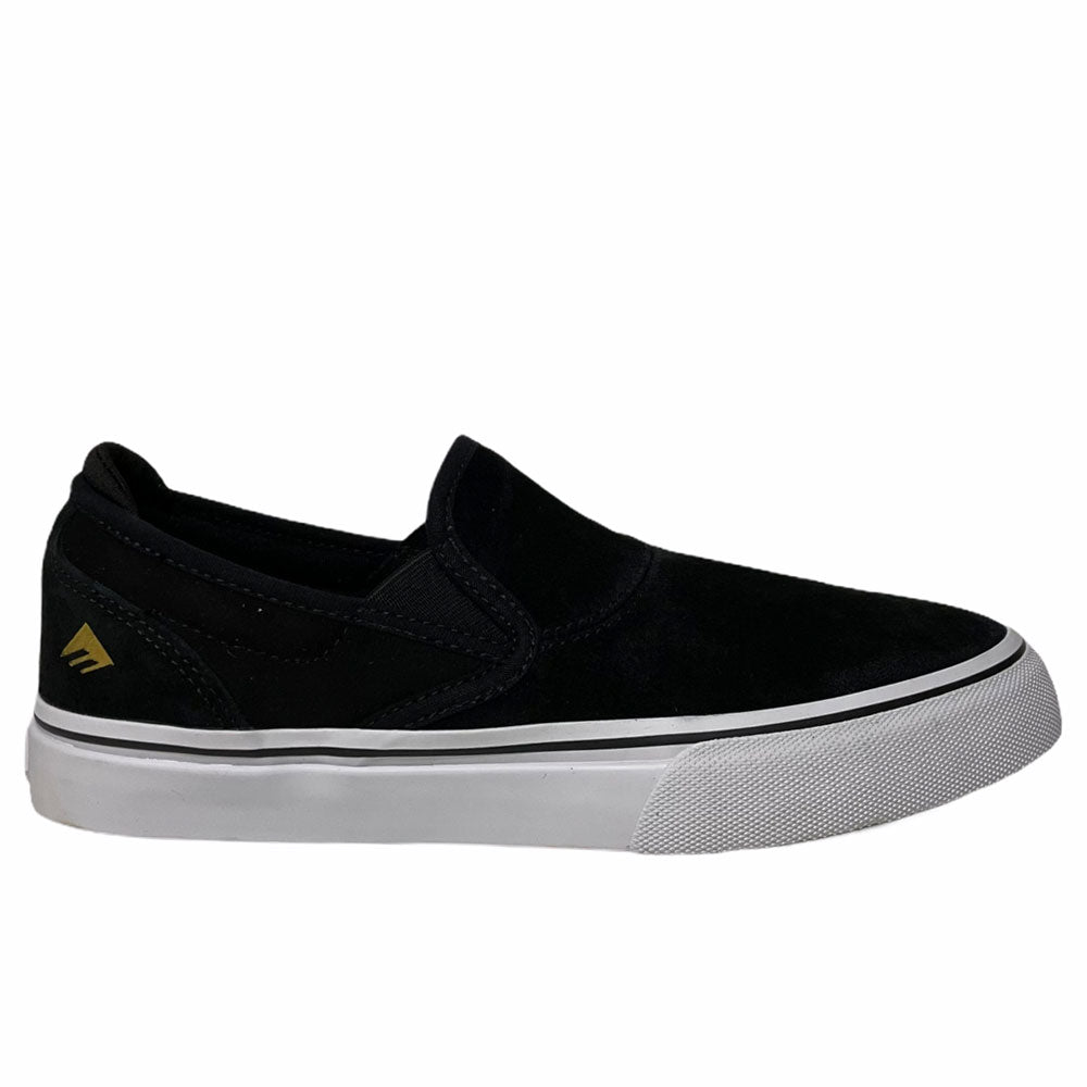 Emerica Wino G6 Slip On Black White Gold
